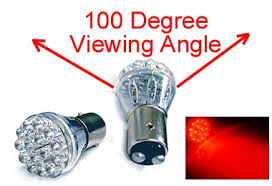 wide angle replacement 1157 led turn signal taillight bulbs from
