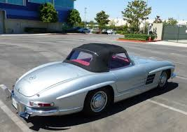 1960 mercedes for sale 1960 mercedes 300sl roadster 2 tops los angeles california for