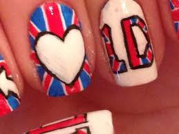 tutorial nail art one direction nail design direction new trend 2017 2018 nails pix