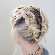 plait hairstyles for short hair best 25 braid short hair ideas on pinterest short hair braids
