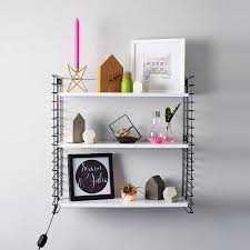 mid century style wall shelves by berylune notonthehighstreet com