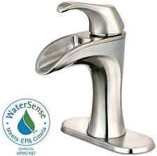 Single Lever Bathroom Faucet by Pfister Brea 4 In Centerset Single Handle Bathroom Sink Water