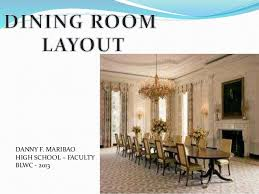 dining room layout dining room layout