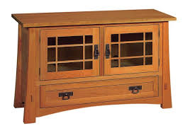 mission style corner tv cabinet amish montana mission tv stand with drawer and two doors tv stands