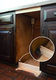 How To Fix A Cabinet Drawer Adding Diyed Pull Out Basket Drawers In The Kitchen Young House Love
