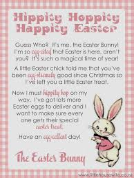 Easter Scavenger Hunt Little Housewife Letter From The Easter Bunny