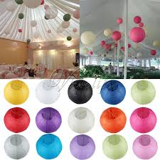 lanterns home decor round chinese paper lantern birthday wedding party home decor gifts