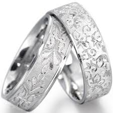 Wedding Rings White Gold by Floral White Gold Wedding Ringswedwebtalks Wedwebtalks