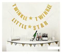 twinkle twinkle birthday twinkle twinkle birthday party supplies bunting banner