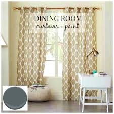 furniture delectable decorating ideas dining room curtains home