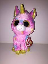 ty beanie boos fantasia unicorn 6 inches ebay