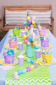 Easter Decorations For Home Kids Simple And Colorful Table Decorations For Easter Easter