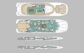 yacht event layout m y quaranta multihull charter ocean five yachts