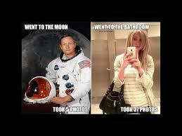 Bathroom Selfie Meme - moon vs bathroom imgur