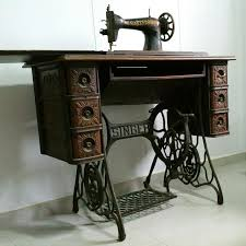 Vintage Singer Sewing Machine Cabinet Not For Sale Antique Singer Treadle Sewing Machine With Cast Iron