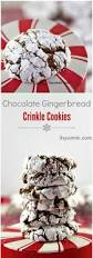 chocolate gingerbread crinkles easy cookie recipes