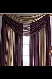 Burgundy Valances For Windows 2nd View Of Pole Scarf Valance Cortinas Pinterest Scarf
