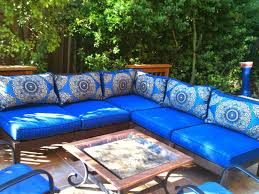lovable blue patio cushions outdoor decorating plan navy blue