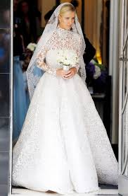 valentino wedding dresses nicky weds rothschild wearing a valentino wedding