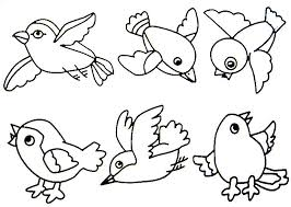 coloring page cool coloring page birds bird pages for kids