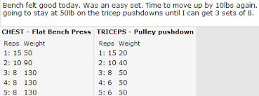 A Good Bench Press Weight The Strength Matrix Ii Graphing And Analyzing Your Set Data