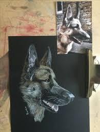 german shepherd coloring pages free german shepherd dog portrait coloring page free printable