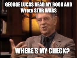 Lucas Meme - the gospel in star wars mimetic margins