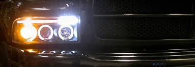 2001 dodge ram headlights 1994 2001 dodge ram 1500 2500 eye halo projector