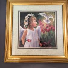 home interior framed home interiors framed matted laurie snow hein print