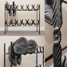 horseshoe decorations for home best creative shoe storage ideas for small spaces