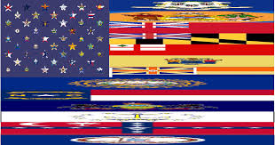 Usa Flag Rules American Flag But The Stars Are The Flags Of The States And The