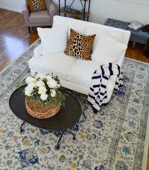 living room makeover reveal at the little cottage fox hollow