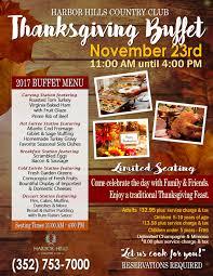 harbor dining buffet thanksgiving feast harbor