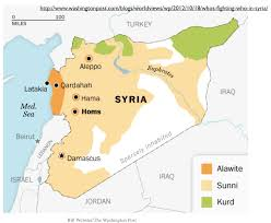Maps Syria by Michael Izady U0027s Amazingly Detailed Map Of Ethnicity In Syria And