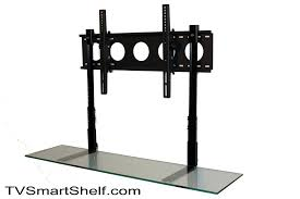 Tv Wall Mounts With Shelves Metal And Glass Hanging Shelves 17 Image Wall Shelves