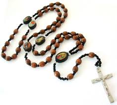 catholic necklaces catholic wooden rosary cross necklace for men 30