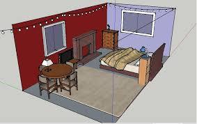 bedroom design using google sketchup home pleasant