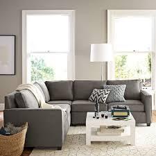 Light Gray Sofas Transitional Living Room Highgate House In Sofa