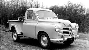 renault pickup truck renault colorale pickup u00271950 u201357 youtube