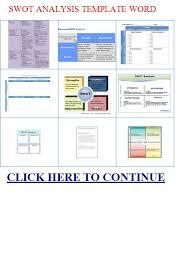 swot analysis template word ad analysis essay