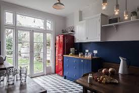 Kitchen Cabinets London Steal This Look A Cost Conscious Retro Kitchen In London