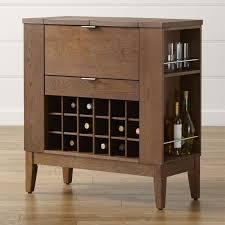 Folding Bar Cabinet Bar Cabinets And Bar Carts Crate And Barrel