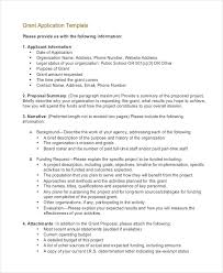 funding application template 28 images doc 728942 sle grant