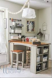 furniture surprising craft table with storage for craft room