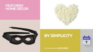 simplicity home decor by simplicity featured home décor youtube