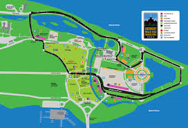 Michigan Casino Map by Detroit Belle Isle Grand Prix Map 300 Renaissance Ctr Detroit Mi