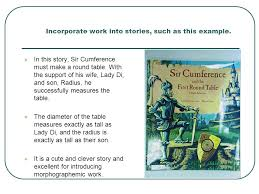 Sir Cumference And The First Round Table Vocabulary Development Morphographemic Approaches Ppt Video