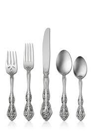 oneida michelangelo 20 piece stainless flatware set belk