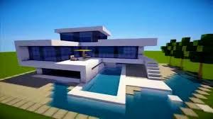 Rustic Modern House Decoration Prepossessing Minecraft How Build Modern House Best