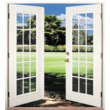 Out Swing Patio Doors Shop Reliabilt 6 Reliabilt Patio Door Wind Code Approved